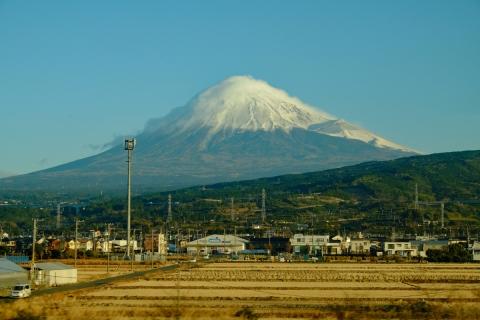 03車窓から富士山