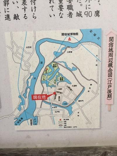 20161120関宿城址 縄張り図