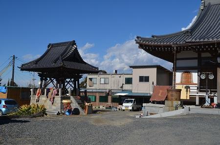 20170206茨木百景 伝正寺と真壁城址11