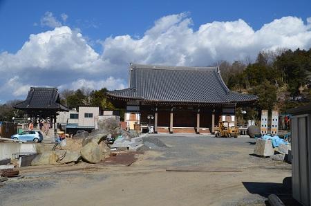 20170206茨木百景 伝正寺と真壁城址10