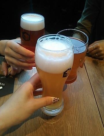 スプリングバレー 乾杯