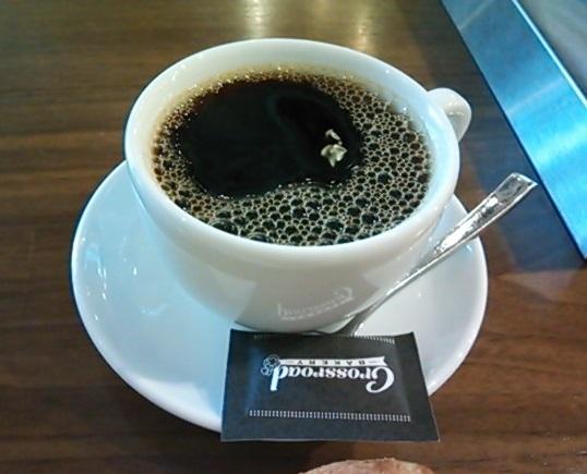 クロスロードベーカリー コーヒー