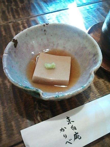 かりべ そば豆腐 (2)