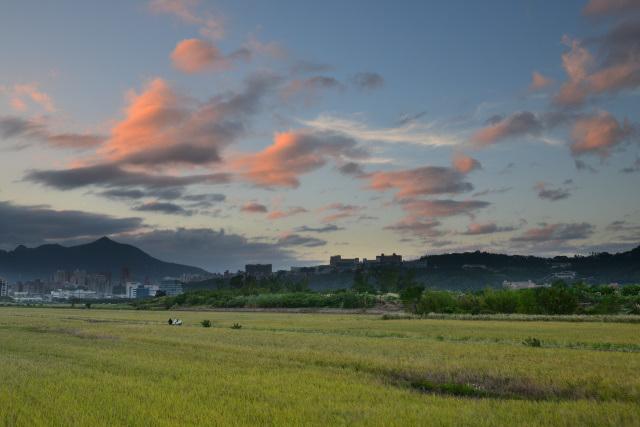 夕暮れ雲(1)