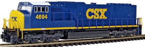 SD70M CSX