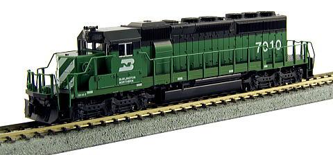 EMD SD40-2 Mid BN