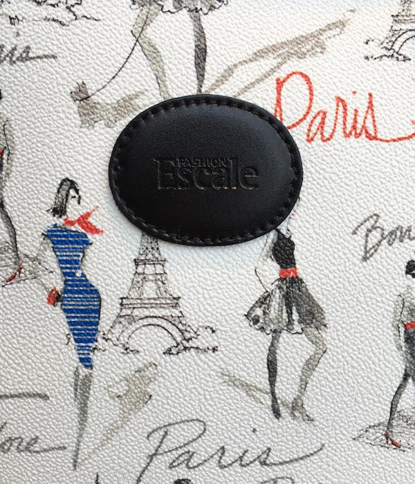 フランスっぽいデザインのEscale・エスカルのプリントバック