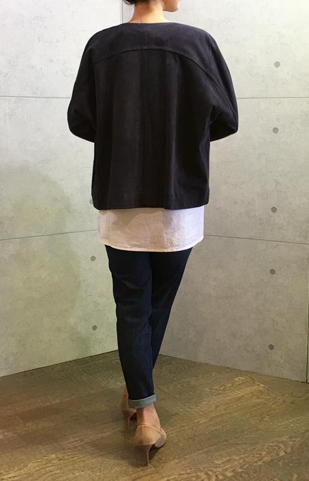 ヴィンスのスエードのジャケット