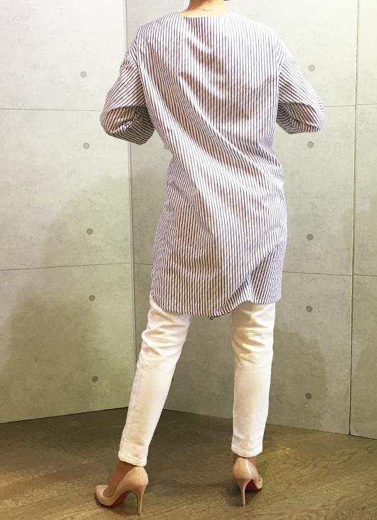 コユキのロングシャツチュニック