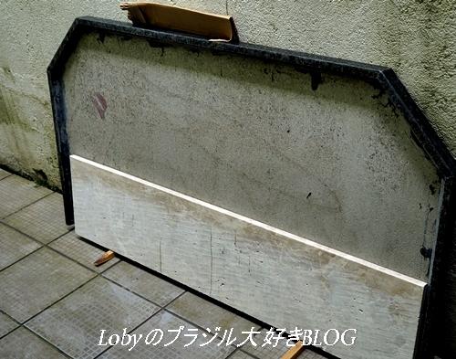大理石のキッチンテーブル
