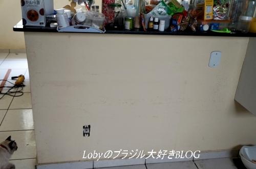 大理石のキッチンテーブルを置く場所