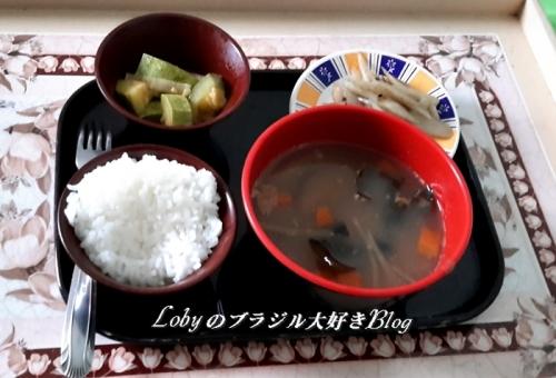 Lobyの作った食事