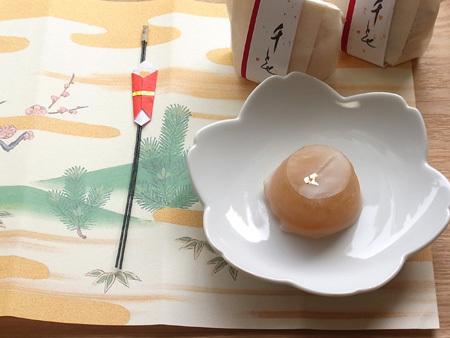 京都・宝泉堂 千とせ 白小豆