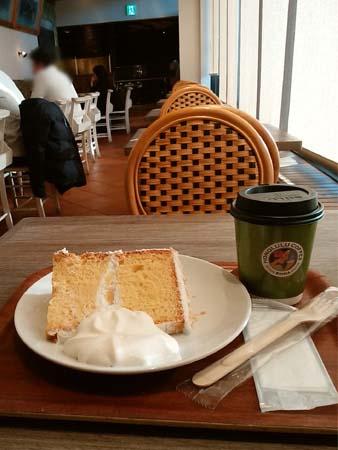 ホノルルコーヒー ココナッツシフォンケーキ