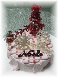 161123 ノエル・デュ・ローズ・レジェ クリスマスケーキ