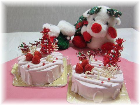 161212 クリスマスケーキ