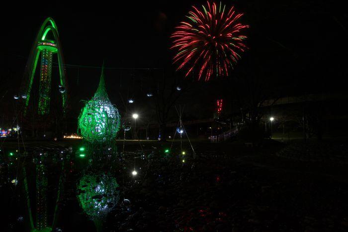 2016-12-8-1花火とイルミネーション