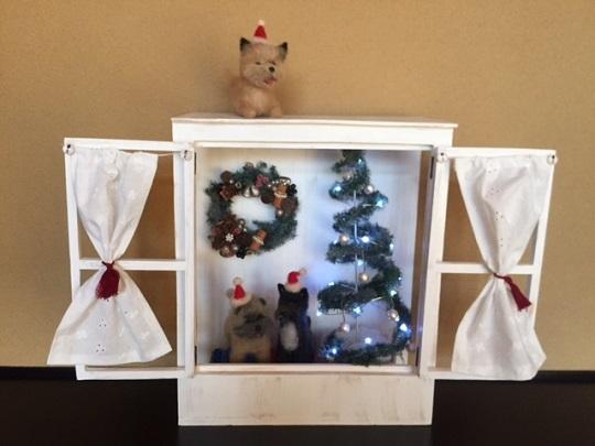 20161122羊毛フェルトクリスマス