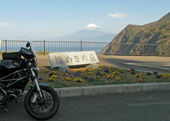 煌めきの丘からの富士山