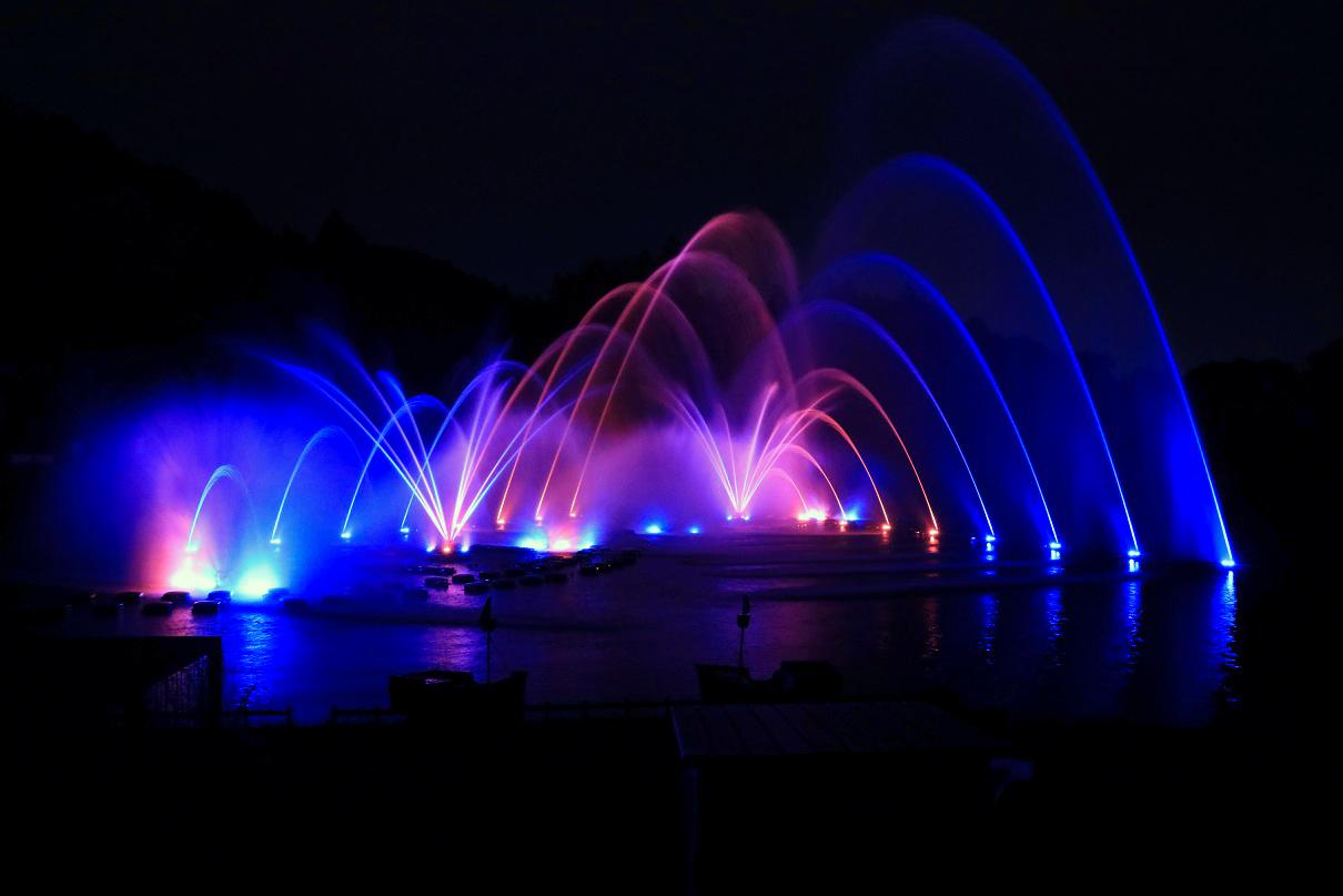 噴水ショー1
