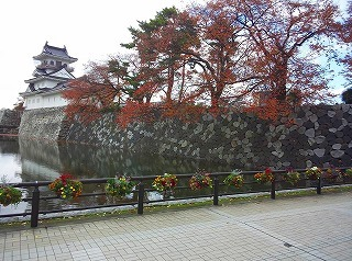森井さん、富山城址