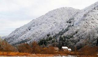 (12・9)利賀は雪