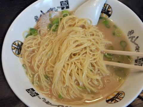 きんしゃい亭 県央店・H28・1 ラーメン 麺