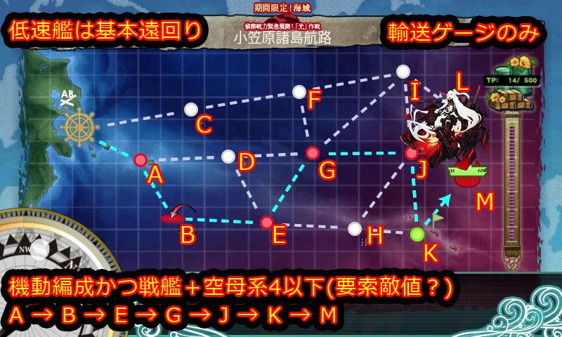 艦これ,17冬イベ,攻略,MAP,自作