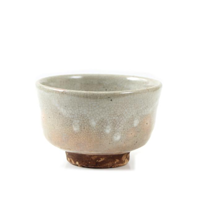 萩小服茶碗
