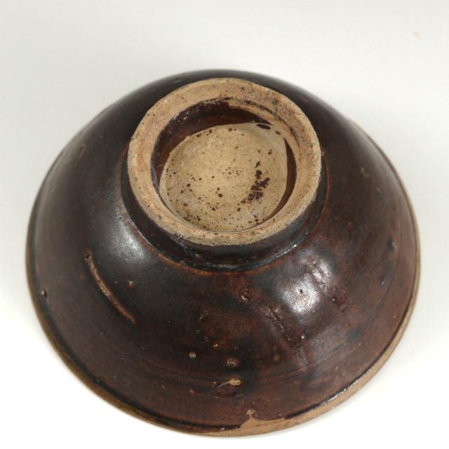 壺屋鉄釉杯