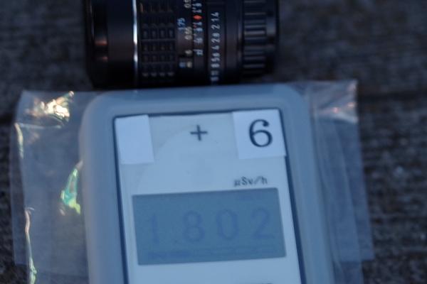 レンズ側面放射線量