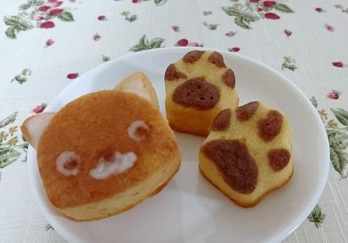 猫の焼菓子