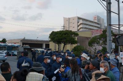 CyavJMYVIAEE4Yi不当逮捕に対する抗議集会が