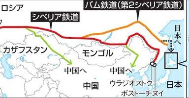シベリア鉄道、まさかの北海道延伸?