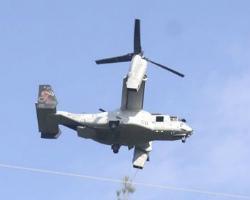 C1xhtEHUAAErW91オスプレイ低空飛行