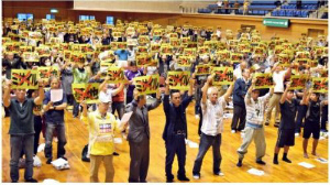 C3X2zCaVcAA8ig3石垣陸自配備、800人抗議集会
