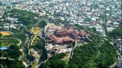 C3Ypp5GVUAAia9Y写真は、空から見た首里城