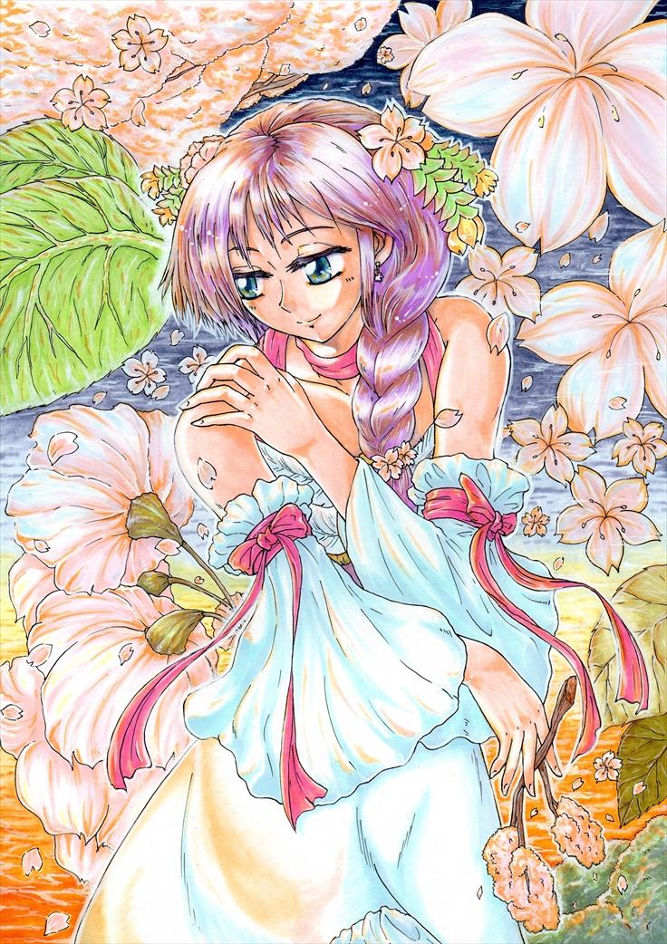 黄昏桜(ワンダラーセカンドコスチューム)