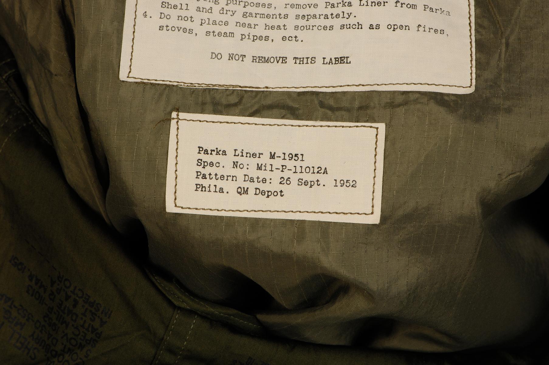 M51フィールドパーカー/実物・デッド品