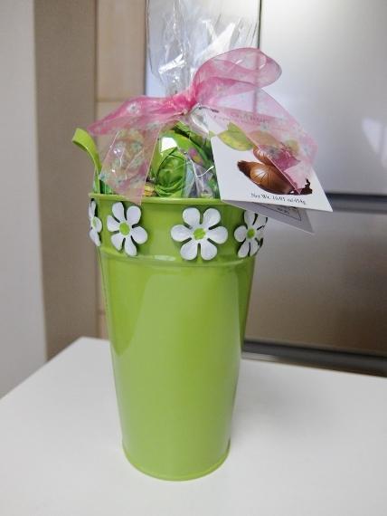 コストコ ◆ スプリング バケツ チョコレート 1,258円也 ◆