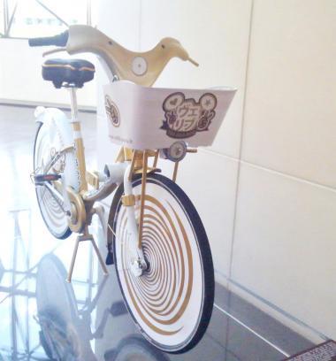 かわいい自転車前201611