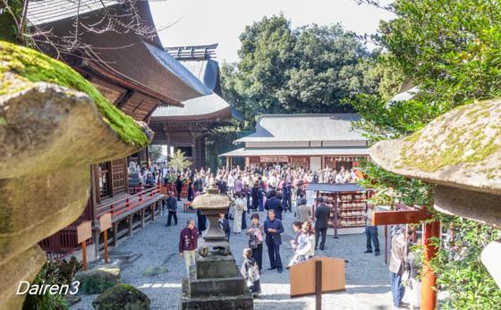 七五三 産泰神社