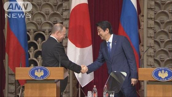 【報ステ】安倍総理『平和条約締結へ重要な一歩』 20161216安倍「重要な一歩」日ロ首脳会談・共同経済活動で北方領土は取り戻せない・日本の核武装が必要不可欠