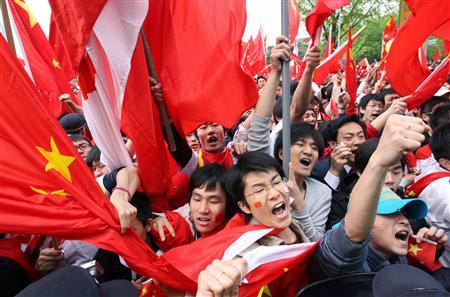 近年では、例えば、平成20年(2008年)に北京五輪の聖火リレーを長野市で行った際に支那人留学生が集団暴動を起こした。