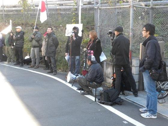 20161228第2回ユーキャン抗議街宣、高田馬場