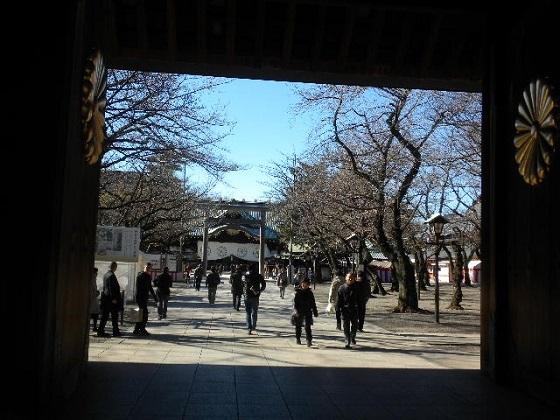 20161228私も、稲田防衛相が参拝した12月29日の前日28日に靖国神社を参拝した。