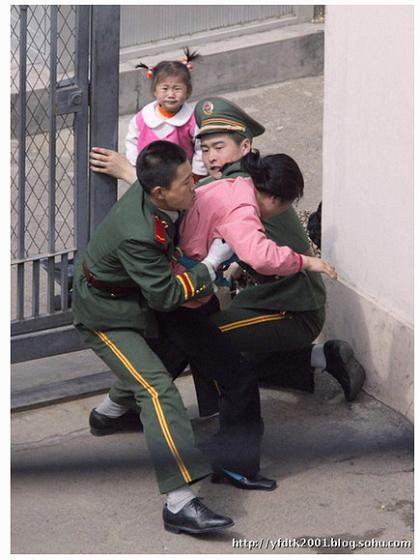 瀋陽・日本領事館、脱北家族駆け込み事件、当時2才のハンミちゃん