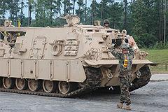 事故を起こした装甲車と(ほぼ)同じ型のM88A2装甲車。事故を起こした装甲車はM88A2かM88A1なのか確認できていない