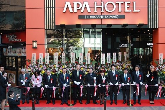 アパ初全館禁煙ホテル、アパホテル〈新富町駅北〉とアパホテル〈飯田橋駅前〉の2棟本日同時開業
