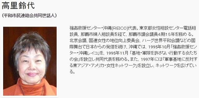 更に、凄いブーメラン!沖縄タイムスで「逮捕されても影響がない老人を使ってのデモ」計画を語った高里鈴代って、のりこえねっとの共同代表ですね。身内が断言した計画をデマ呼ばわりして、それを報じた「ニュース女